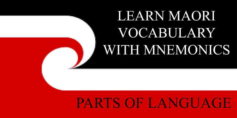 Te Reo With Mnemonics: Parts of Language Words