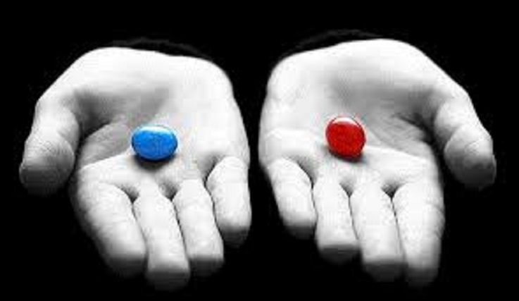 Red Pill, White Pill, Blue Pill, Black Pill